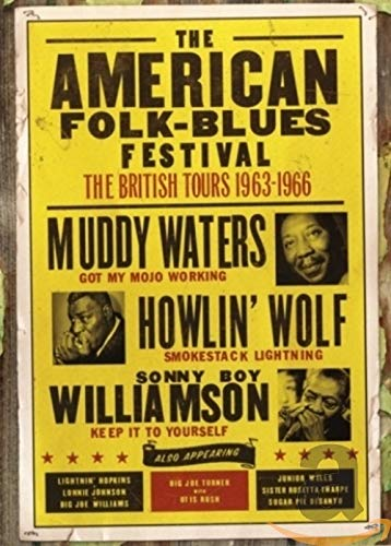 American Folk-Blues Festival: The British Tours 1963-1966 [DVD]