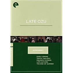 Late Ozu - Eclipse Series 3 - Criterion Collection