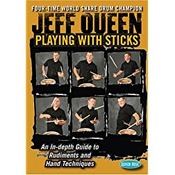 Jeff  Queen - Playing with Sticks/The Next Level