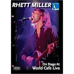 Rhett Miller: On Stage at World Cafe Live