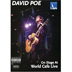 David Poe: On Stage at World Cafe Live