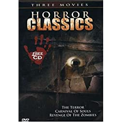 Horror Classics: The Terror/Carnival of Souls/Revenge of the Zombies