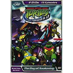 Teenage Mutant Ninja Turtles: Fast Forward - The Day of Awakening v.2