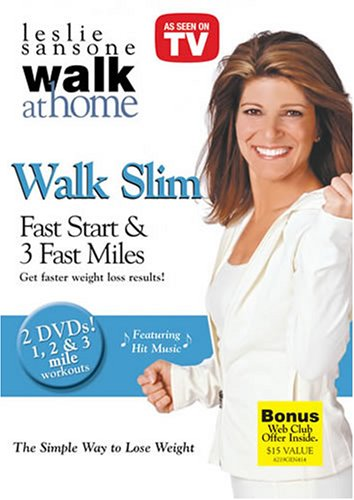 Leslie Sansone's Walk Slim - Fast Start 1 & 2 Mile Walk / 3 Fast Miles (2-DVD Set)