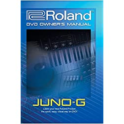 Roland Juno-G DVD Owner's Manual