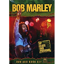 Bob Marley: Up Close & Personal (w/ Book)