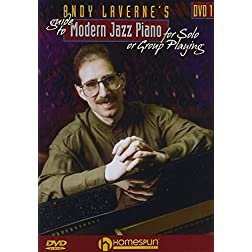 Andy Laverne's Guide to Jazz Piano, Vol. 1 and 2