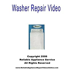 Washer Repair Video for Whirlpool, Kenmore, Sears, Roper, Kitchen Aid