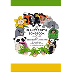 Planet Earth Songbook DVD-ROM and 2-CD Set