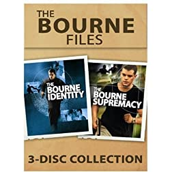 The Bourne Files 3-Disc Collection (The Bourne Identity / The Bourne Supremacy)