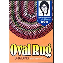 Oval Rug Braiding with Verna