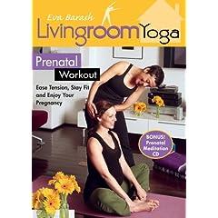 LIving Room Yoga Prenatal Workout