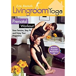 LIving Room Yoga Prenatal Workout