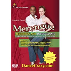 Learn To Dance Merengue, Beginning and Intermediate: A Step-By-Step Guide To Merengue Dancing