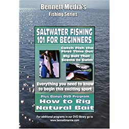 HOW TO RIG NATURAL BAITS & FISHING 101 FOR BEGINNERS