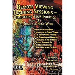 Remote Viewing Training Sessions - Part 3 of 7 - Live Demo and Homework