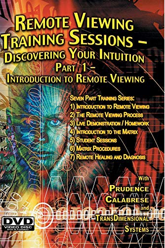 Remote Viewing Training Sessions - Part 1 of 7 - Introduction to RV