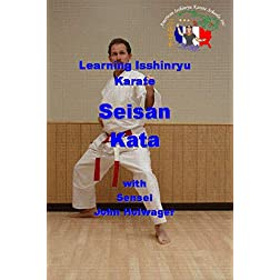 Learning Isshinryu Karate - Seisan Kata
