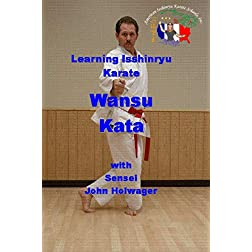 Learning Isshinryu Karate - Wansu Kata