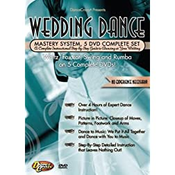 Wedding Dance Mastery System, 5 DVD Set: A Complete Instructional Step By Step Guide to Dancing at Your Wedding