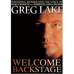 Greg Lake: Welcome Backstage