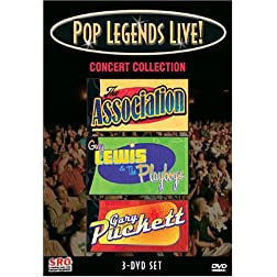 Pop Legends Live! Concert Collection (The Association / Gary Lewis & the Playboys / Gary Puckett & the Union Gap)