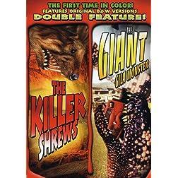 The Killer Shrews/The Giant Gila Monster
