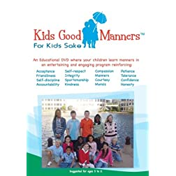 The Kids Good Manners DVD