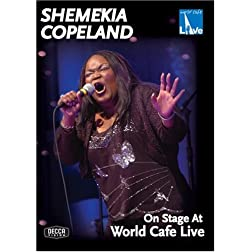 Shemekia Copeland: On Stage at World Cafe Live