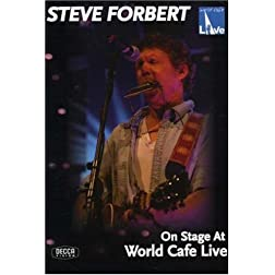 Steve Forbert: On Stage at World Cafe Live