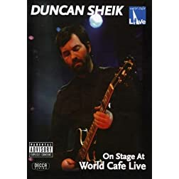 Duncan Sheik: On Stage at World Cafe Live