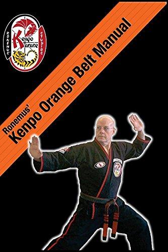 Ronemus Kenpo Orange Belt Manual