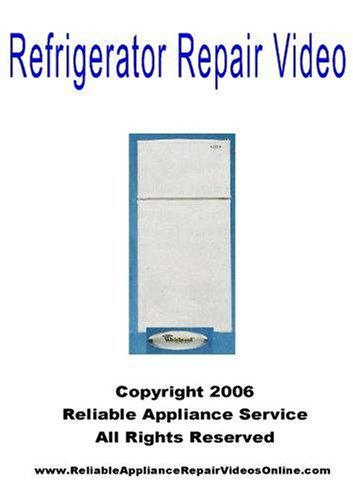 Refrigerator Repair Video Refrigerator Repair DVD