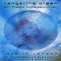 Tangerine Dream 35th Phaedra Anniversary Concert