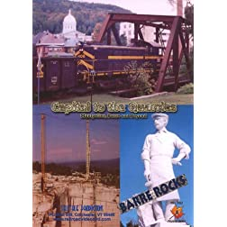 Capital to the Quarries: Montpelier, Barre and Beyond (Vermont granite quarries, artisans and the railroads that served them)