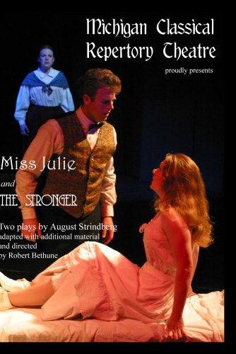 Miss Julie and The Stronger, by August Strindberg
