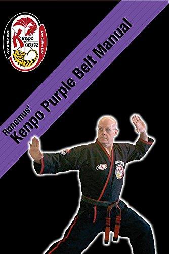 Ronemus Kenpo Purple Belt Manual