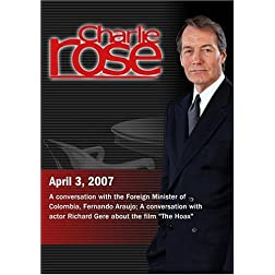 Charlie Rose (April 3, 2007)
