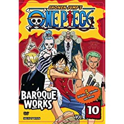 One Piece, Vol. 10 - Baroque Works