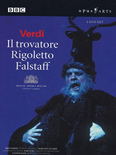 Verdi Box Set: Falstaff, Rigoletto, Il Trovatore