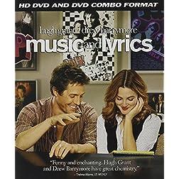 Music and Lyrics (Combo HD DVD and Standard DVD) [HD DVD]