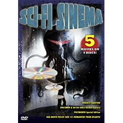 Sci-Fi Sinema (5-Pack - Project: Valkyrie / Spacemen & Go-Go Girls Double Feature / Polymorph / Bad Movie Police Case #3: Humanoids From Atlantis)