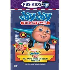 Jay Jay the Jet Plane - Jay Jay's Wing Wigglin' Mystery