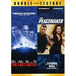 The Last Castle (2001) / The Peacemaker (1997) (Double Feature)