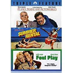 Planes, Trains and Automobiles / Summer Rental / Foul Play (Triple Feature)