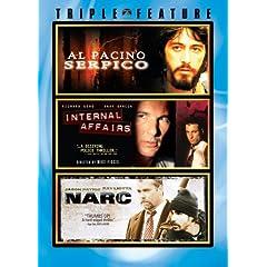 Serpico / Internal Affairs / Narc (Triple Feature)
