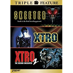 Skeeter / Xtro / Xtro 2: The Second Encounter (Triple Feature)