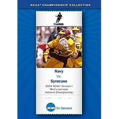 2004 NCAA Division I Men's Lacrosse National Championship