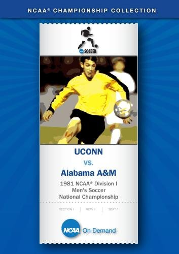 1981 NCAA Division I Men's Soccer National Championship - UCONN vs. Alabama A&M