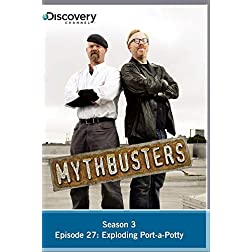 Mythbusters Season 3 - Episode 27: Exploding Port-a-Potty